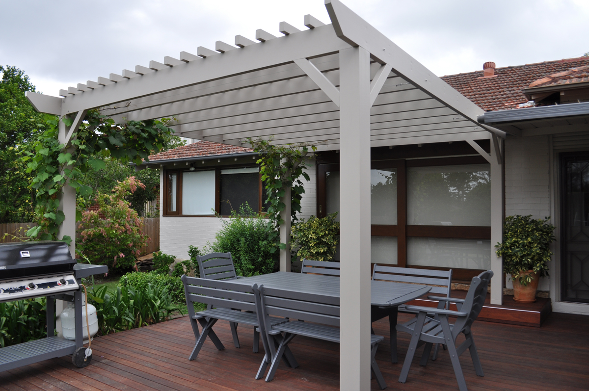 pergolas - new build